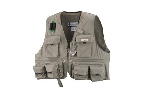 Columbia Men's Henry's Fork III Fishing Vest (Sage, Large), Outdoor Stuffs