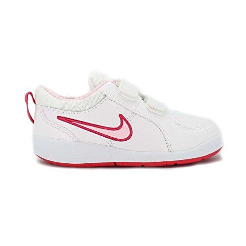 Nike Pico 4 (TDV) - Zapatillas, unisex - infantil Blanco / Rosa