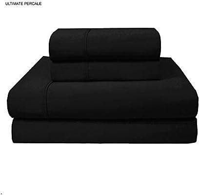 Purity Home Ultimate Percale - Juego de sábanas de percal de 400 ...