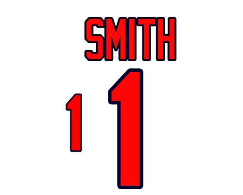 (Ozzie Smith St. Louis Cardinals Jersey Number Kit, Authentic Home Jersey Any Name or Number Available)