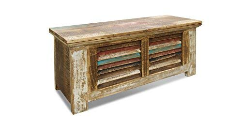Crafters And Weavers Rustic Distressed Reclaimed Solid Wood