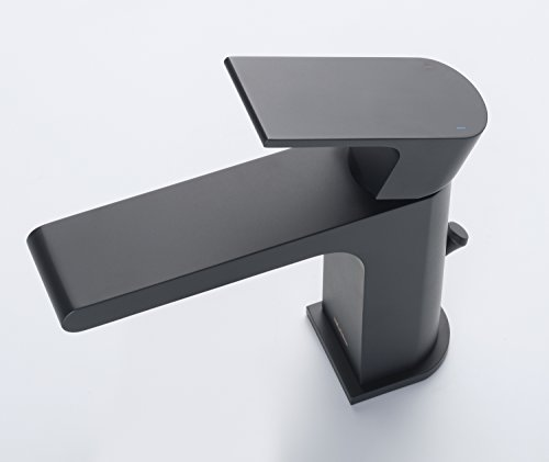 Stufurhome ST5001MB Monty Single Hole Faucet, Matte Black by Stufurhome (Image #2)