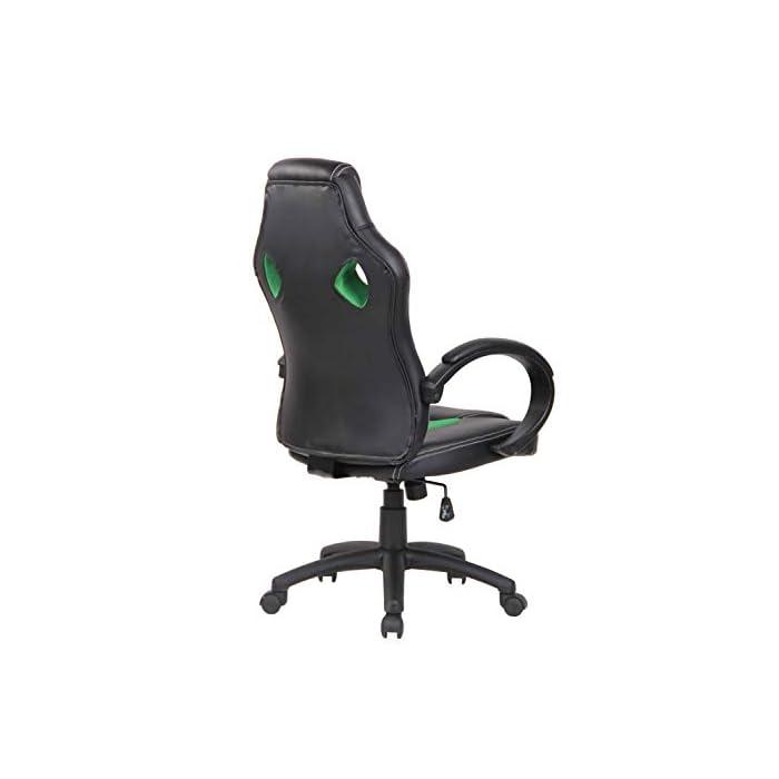 3117vhyjiQL CARACTERÍSTICAS: La silla Gaming Fire tiene un acolchado de alta calidad y mezcla el tapizado en cuero sintético y tela para ofrecer un plus de comodidad. La silla tiene un estilo deportivo, es regulable en altura, giratoria e incluye un mecanismo de balanceo para ofrecer más libertad de movimientos. POSTURA SALUDABLE: Con la silla gaming Fire se consigue mantener una postura cómoda durante largos periodos de tiempo, además, gracia a su diseño claro y sus definidas formas hacen que se adapte perfectamente a la postura de trabajo. Ofreciendo así el máximo confort. DIMENSIONES: La silla Gaming tiene las siguientes medidas: Altura total: 110 - 120 cm I Ancho total: 62 cm I Profundidad total: 66 cm I Altura del asiento: 49 - 59 cm I Profundidad del asiento: 50 cm I Altura del respaldo: 71 cm I Altura del resposabrazos des del suelo: 72 - 82 cm I Peso: 16 kg.