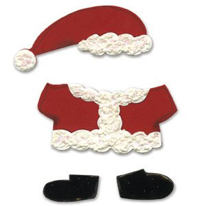 Ellison Sizzix Bigz BIGkick/Big Shot Die-Animal Dress-Ups Santa Outfit