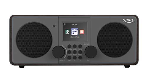 Xoro DAB 600 IR V3 Stereo Internet DAB+/FM-radio – internetradio met WLAN, 2 x 5 Watt RMS, USB 2.0, app-bediening…