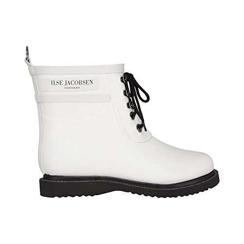 Ilse Jacobsen Rub2 Boot - Women's White 40 by ILSE JACOBSEN