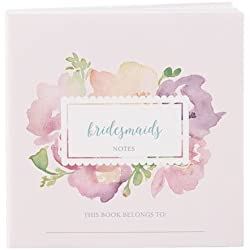 Weddingstar 9298-1074-49 Notepad Favor with Personalized Garden Party Cover - Bridal Party Assortment