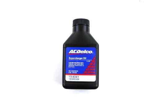 ACDelco 10-4041 Synthetic Supercharger Oil – 4 oz