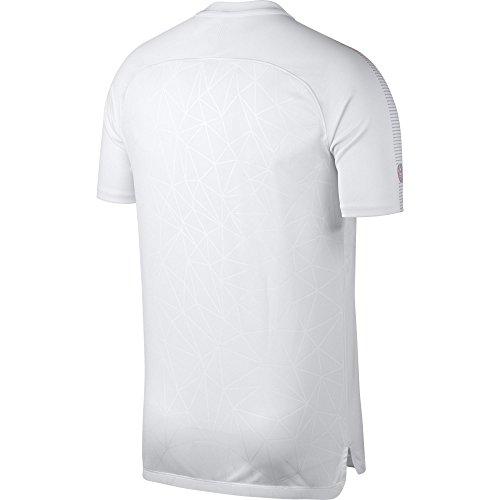 NK Dry nbsp;M negro Top SS CR7 Blanco Nike GX SQD WFEnTA7xg