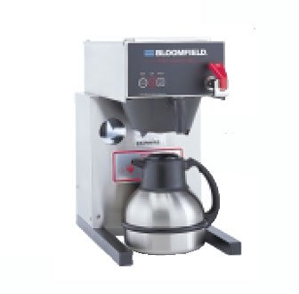 Bloomfield 1082AFL E.B.C Electronic Thermal Brewer, Pour-Over Option, Faucet, 17'' Depth, 10'' Width, 17 3/4'' Height by Bloomfield