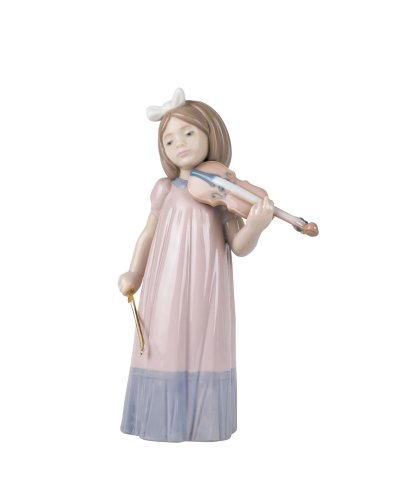- NAO Girl with Violin Figurine