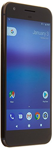 Google Pixel Mobile Phones, Quiet Black, 128 GB (Certified Refurbished)