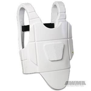 Velocity Chest Guard – White size medium