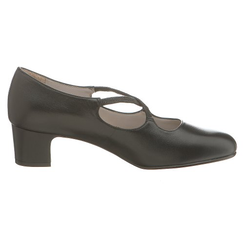 Trotters Damie Pump Black Kid Voor Dames
