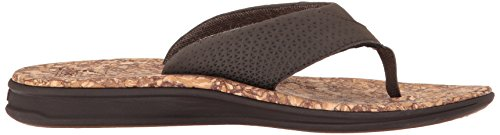 Reef Herren Sandalen Rover Prints Sandalen brown/cork