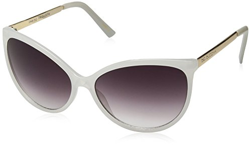 Big Buddha Women's Tessie Cateye Sunglasses, White, 53 - Buddha Big Sunglasses