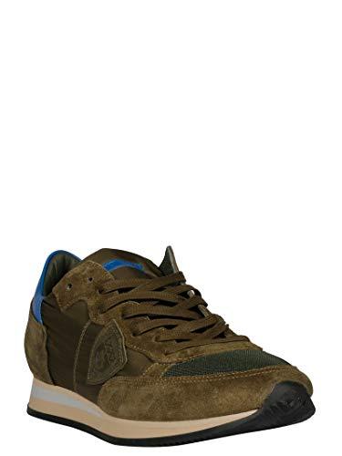 Model Marrone Trluw064 Uomo Philippe Sneakers Tessuto Zwv8q6AxA