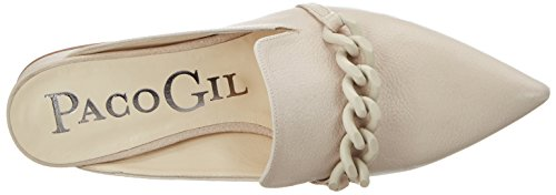 Paco Gil P3201 - Mules Mujer Beige (Sand)