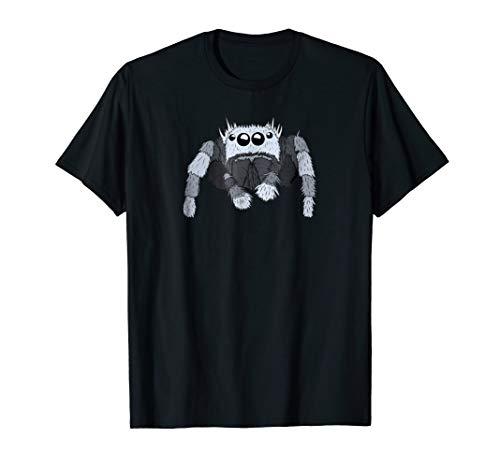 Jumping Spider T-shirt, Cute Spider Kids Bug Catcher Shirt