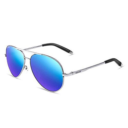 polarisées B grenouille lunettes nouveau CH hommes ZYTYJ Lunettes ZY soleil pour de soleil de miroir hommes cOXaZOq
