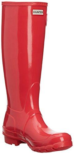 Hunter Women's Coral Original Bright Boots Rain Gloss BqnvfUrB