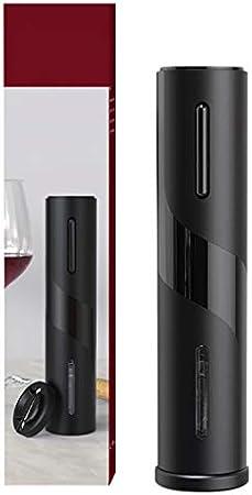 Mingtongli Botella de Vino abridor eléctrico LED USB Recargable Sacacorchos automático para la Cocina casera Barra del Partido