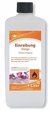 KK Hygiene Einreibung orange (70 Vol. percent ), 1er Pack (1 x 1 l)