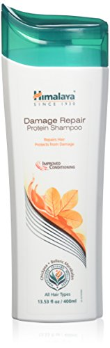 Himalaya Protein Shampoo - Himalaya Damage Repair Protein Shampoo for Dry, Frizzy Hair, 13.53 Ounce