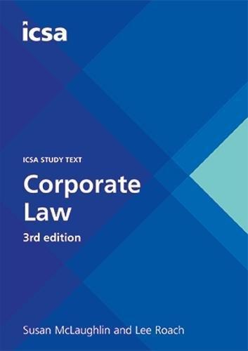 CSQS Corporate Law, 3rd edition ebook