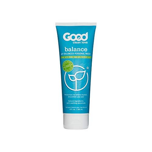 Good Clean Love : Balance Moisturizing Wash, 8 Ounce, Bio-Matched Gentle Moisturizing Cleanser