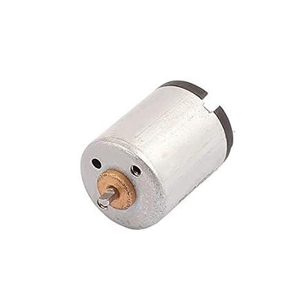 eDealMax DC1.25-3.7V 22000RPM alta velocidad de vibración DC motor eléctrico para