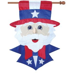 28in House Flag - Uncle Sam