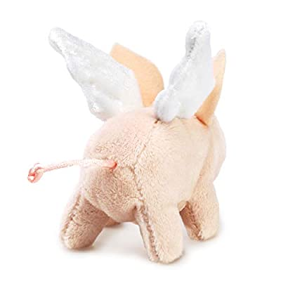 Folkmanis Mini Winged Piglet Finger Puppet: Toys & Games