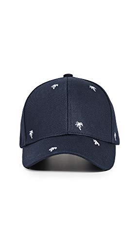 Paul Smith Men's Embroidered Baseball Cap, Blue, One Size