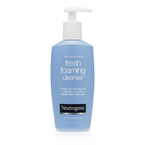 Neutrogena Fresh Foaming Cleanser, 6.7 oz (Pack of 4)