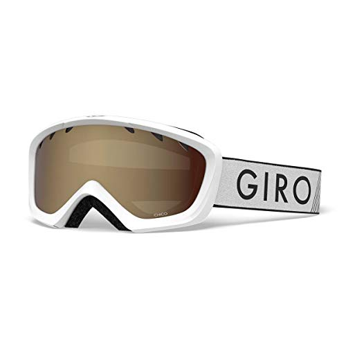771604061d31 Giro Chico Kids Snow Goggles White Zoom - Amber Rose