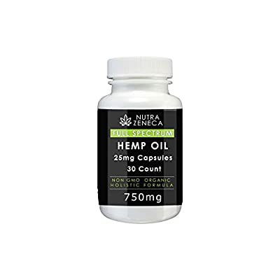 Hemp Oil Capsules by Nutra Zeneca