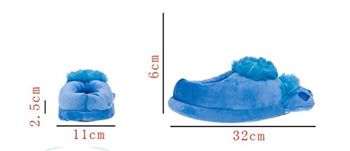 Aksautoparts Unisex Cartoon Voor Volwassenen Katoen Hobbit Grote Voeten Pantoffels Schoenen Indoor Warmte Abrikoos