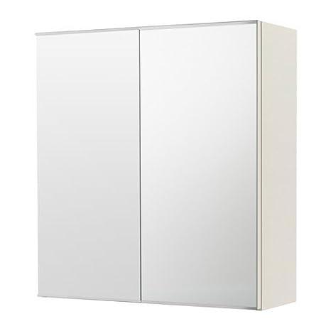 Ikea LILLANGEN Spiegelschrank mit 2 Türen; in weiß ...