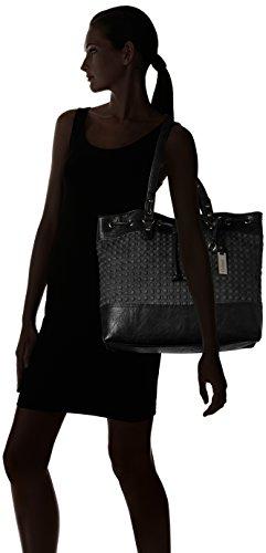 Gabor Damen Bella Shopper, 41x33x15 cm Schwarz (Schwarz 60)