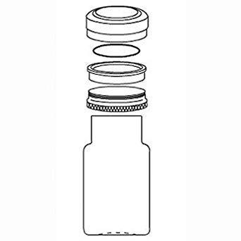 Lab-Crest 110-908-0001 Coupling Component, PFA o-Ring, high Temp