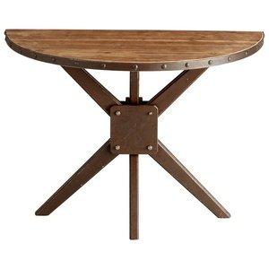 Cyan Design Cyan Design Console Tables Raw Iron & Natural Wood
