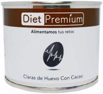 Claras de Huevo con Cacao en Lata Diet Premium 128 g: Amazon ...