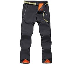 HAINES Pantalones de Montaña Mujer Invierno Pantalon Trekking Impermeables Pantalones para Senderismo Pantalón Softshell