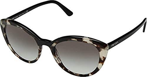 (Prada Women's 0PR 02VS Opal Spotted Brown/Grey Gradient One Size)