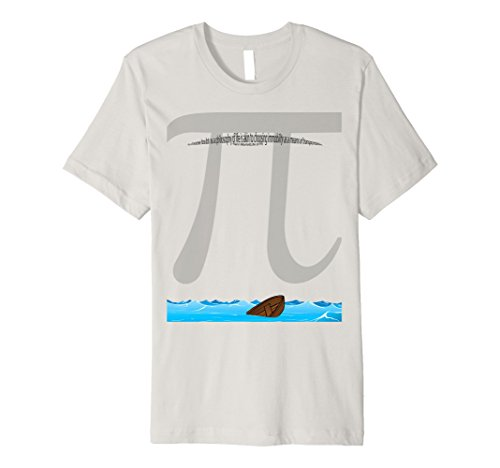 Men's Pi-shirt 3XL Silver