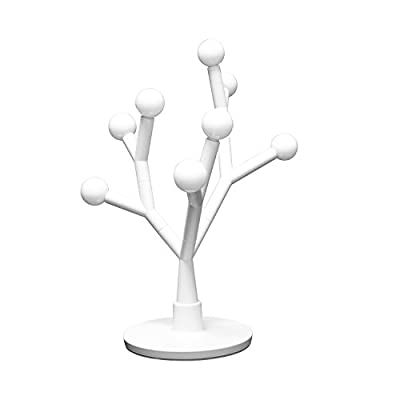 Tenergy Lumi Bloom 8W 750LM LED Desk Lamp, DIY Table Light Tree with Creative Branches, Modern Style Décor Table Lamps with 8 Warm White Bulbs for Office/Bedroom