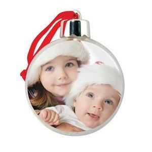 Amazoncom Photo Ball Ornaments Case Of 24 Home Kitchen