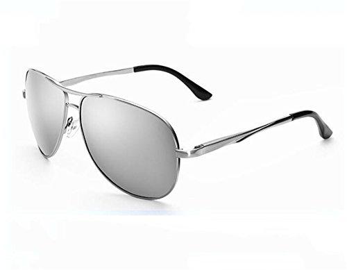 Degrees la 600 KOMNY Producto Banda Hombres Gafas Ash 200 carnet luz Grados de Gafas Espejo Sapo Miopía Marea Of Gafas polarizada de los de Sol Acabado Conducir de Mercury Sol p6gqwdxpr