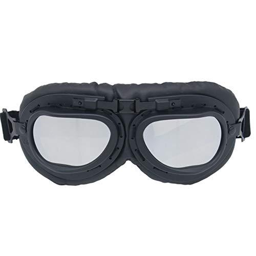 Epinki Unisexo PC Gafas de Motocicleta Gafas Protectoras Gafas de Protección Control de la Arena Gafas de Casco A Prueba de...